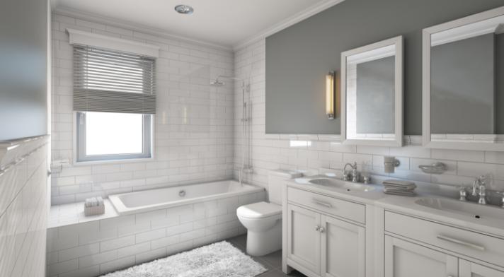 Hotel Bathtub and Shower
