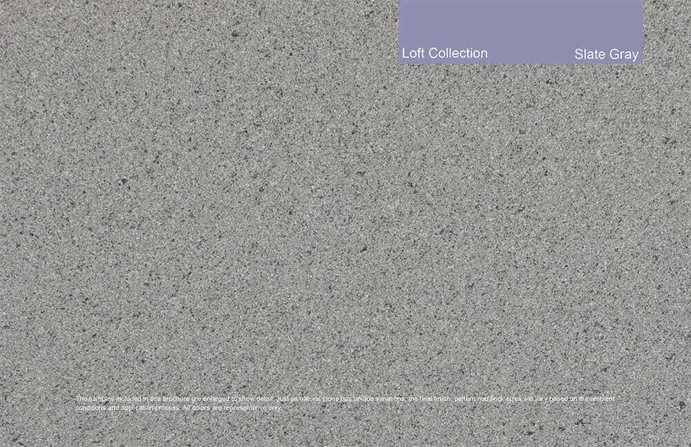 Loft Collection - Slate Gray