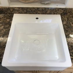 Kitchen sink refinishing after - NuFinishPro