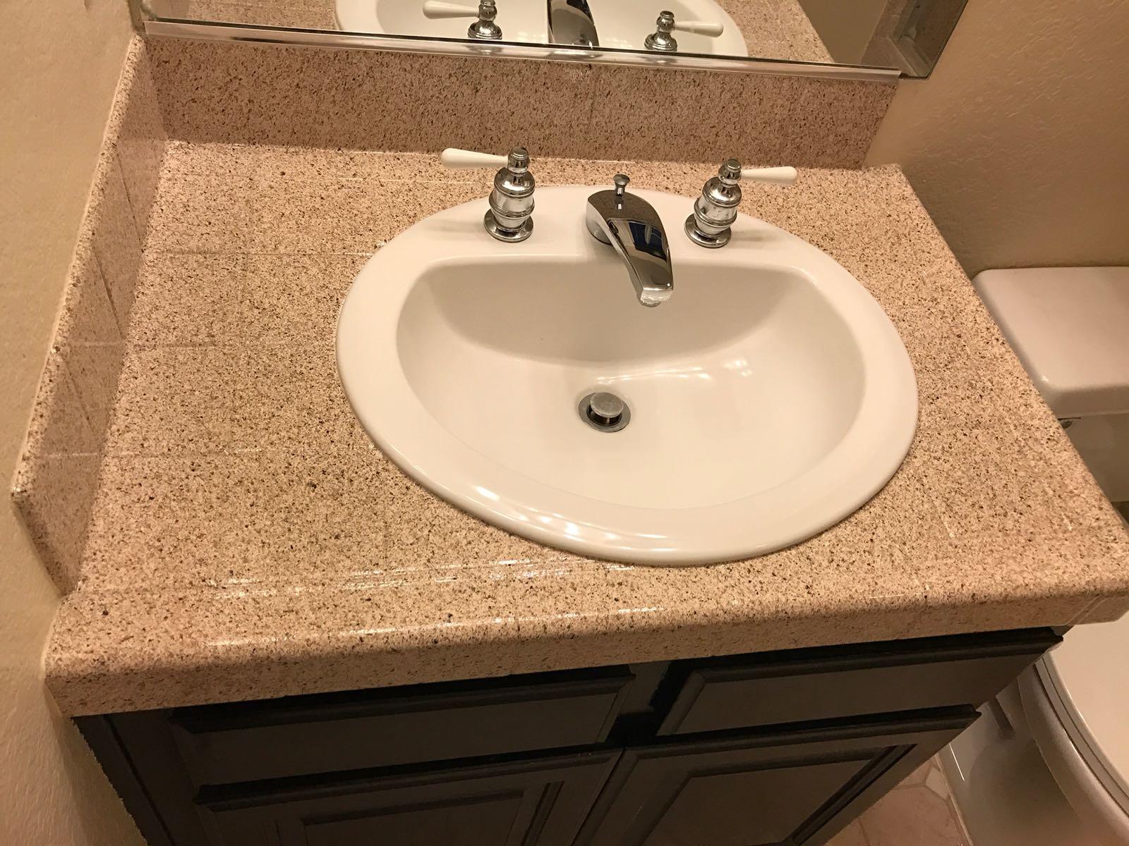 Bathroom Tile Resurfacing After - NuFinishPro