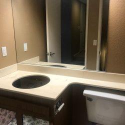Badkamer ijdelheid opnieuw opduiken - NuFinishPro