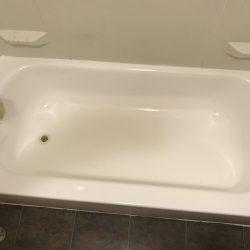 Na overspuiten van badkuipen - NuFinishPro