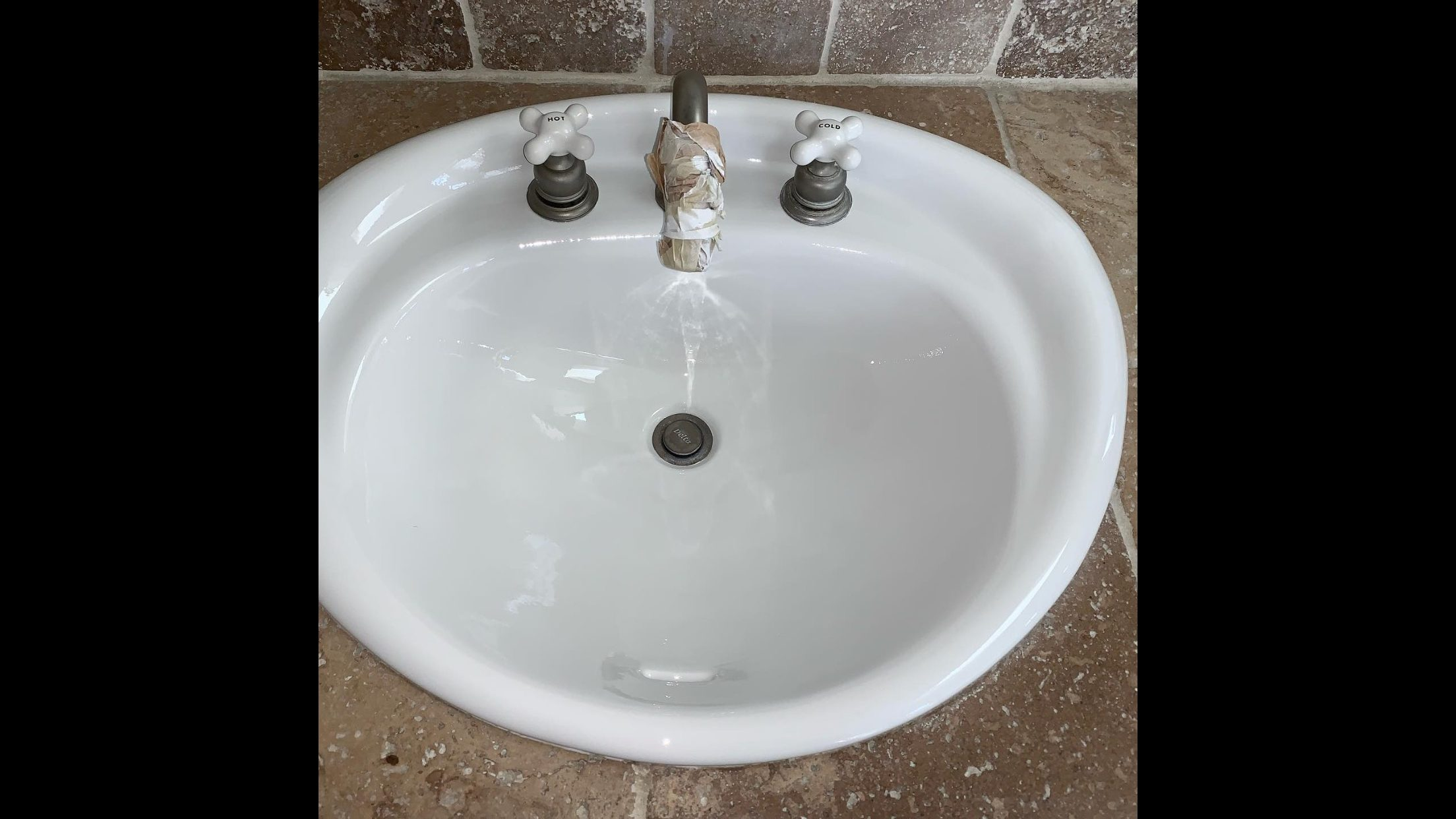 Bathroom Sink Resurfacing After - NuFinishPro