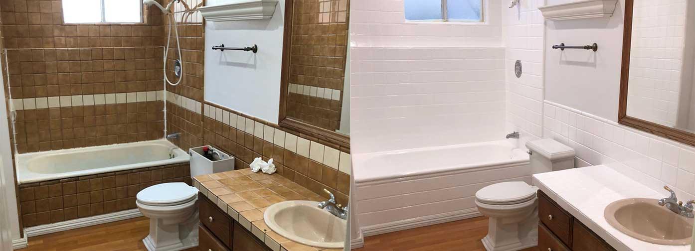 NuFinishPro overspuiten van badkuipen