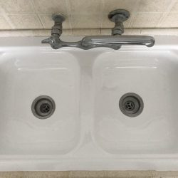 Sink refinishing after by NuFinishPro