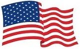 Logo drapeau USA