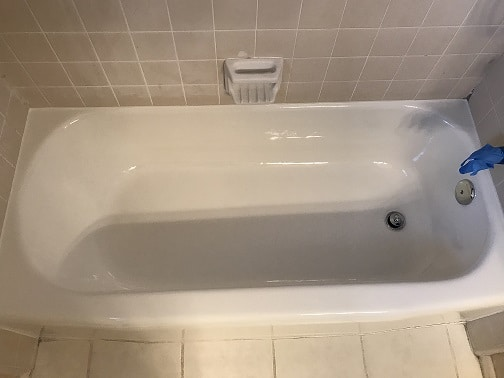 Bathtub Refinishing After Work Done- NuFinishPro