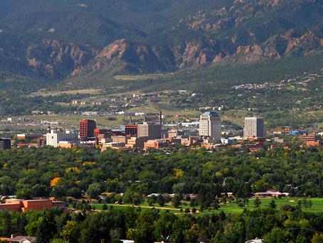 Colorado Springs, NuFinishPro-kantoor in Colorado
